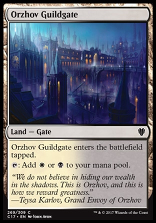 Mtg Lands Ci Orzhov I just realized that each dual color land matches the the two colors of at lest one card in the 5 swords ex: mtg lands ci orzhov